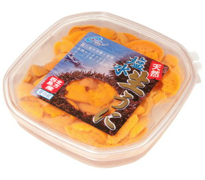 . 塩水うに(エゾバフンウニ) 100g前後/冷蔵商品