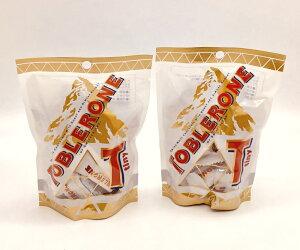 トブラローネ 「タイニー・ホワイト」の2個セット【TOBLERONE、三角チョコレート、スイスのチョコレート、送料無料、輸入チョコレート】