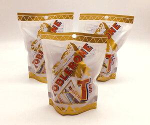 トブラローネ 「タイニー・ホワイト」の3個セット【TOBLERONE、三角チョコレート、スイスのチョコレート、送料無料、輸入チョコレート】