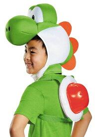 スーパーマリオ ヨッシー 子供用 仮装 2点セット コスプレ ゲーミング ゲーマー