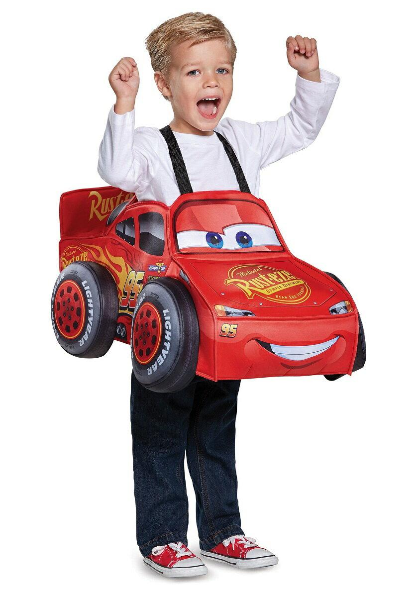 あす楽 カーズ ライティング マックイーン 3D 幼児用 コスチューム