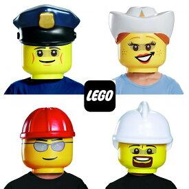 レゴ マスク ポリス カウガール 建設作業員 消防士 働く人々