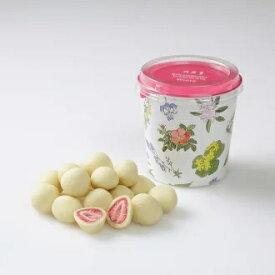 ストロベリーチョコホワイト 六花亭 円筒箱入(130g)(dk-2 dk-3)