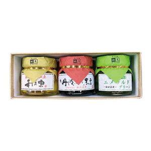 小瓶3種入黒豆の煮豆/栗の甘露煮/梅甘露煮のセット【楽ギフ_包装】
