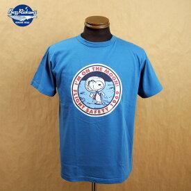 """BUZZ RICKSON'S バズリクソンズ×ピーナッツ コラボ 半袖 Tシャツ """"I'M ON THE MOON!""""BR78423 東洋エンタープライズ"""