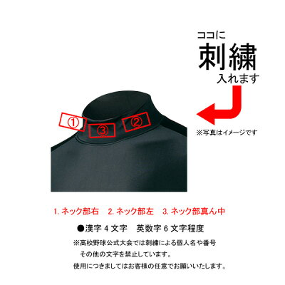 【ネーム刺繍無料】●ミズノ(mizuno)少年用アンダーシャツハイネック長袖12JA5P51【送料無料/ジュニア/子供】
