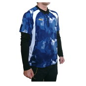 【ネーム刺繍無料】●アクティブームジャパン(ActiveMJAPAN)一般用Tシャツトレーニングウエア半袖ネイビー【送料無料/大人】