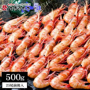 【処分SALE】訳ありお刺身OK!ぼたんえび25尾前後入500g×1パック入)【同梱推奨】海鮮生食可シーフードエビ海産物バーベキューセットBBQkaoth