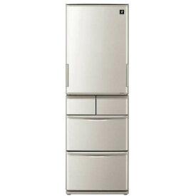 新品 シャープ 冷蔵庫 SHARP SJ-W412E-S プラズマクラスター冷蔵庫 (412L・どっちもドア)5ドア 家電 キッチン 冷蔵庫 冷凍庫 シルバー系 日本製【楽天】 【人気】 【売れ筋】【価格】