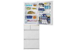 【全国配送】【大型冷蔵庫】【新品】 パナソニック 微凍結パーシャル搭載 NR-E414GV-W 5ドア 右開き 内容量406L(冷蔵199L 冷凍79L 野菜室89L) ECONAVI