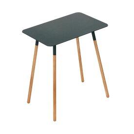 山崎実業 ( Yamazaki ) サイドテーブル プレーン 角型 ブラック 3508