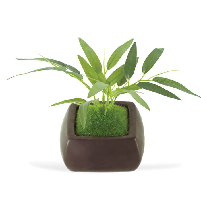 KISHIMA キシマ 消臭アーティフィシャルグリーン 和盆栽 WA BONSAI ARTIFICIAL GREEN タケ KH-61066 Bamboo 観葉植物 CT触媒