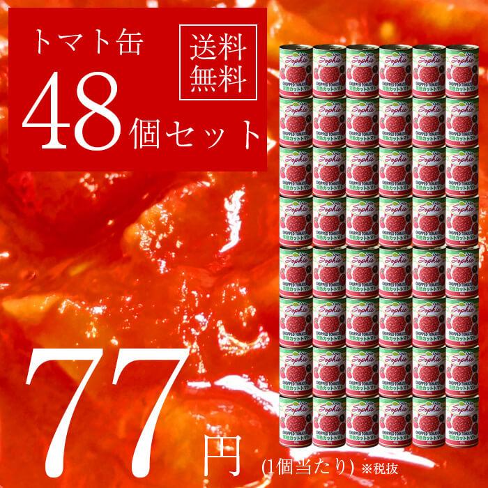 【48缶セット・送料無料】ピアチェーレ ダイスカット トマト缶 400g 完熟 トマト ダイスカット ダイス イタリア イタリア産 イタリアン 缶詰 料理 ※沖縄・離島・一部地域は別途送料