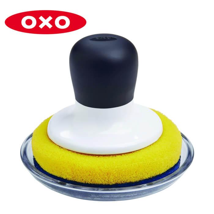 コンパクトソフトスクラブ(トレイ付き) オクソー ( 12126000 )《 オクソ oxo 》