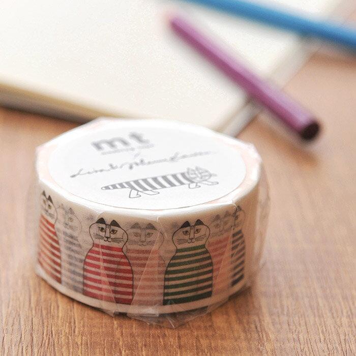 mt × リサ ラーソン マスキングテープ 23mm ミミ ( MTLISA07 ) 【 エムティー Lisa Larson KAMOI masling tape Mimi キッチンブランチ 】