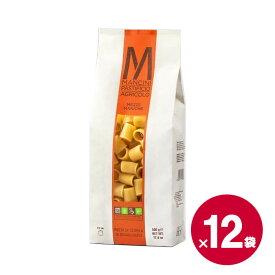 パスタ・マンチーニ メッツェマニケ 500g×12袋 《food》 【 Pastamancini Mezze Maniche イタリア 】 【 ※ご注文後のキャンセル・返品・交換不可。 】