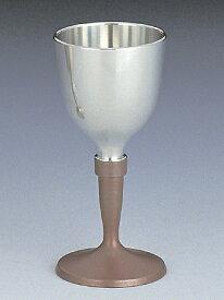 【送料無料】大阪錫器 ワインカップ 朱 【桐箱入り】<85mL>( キッチンブランチ )
