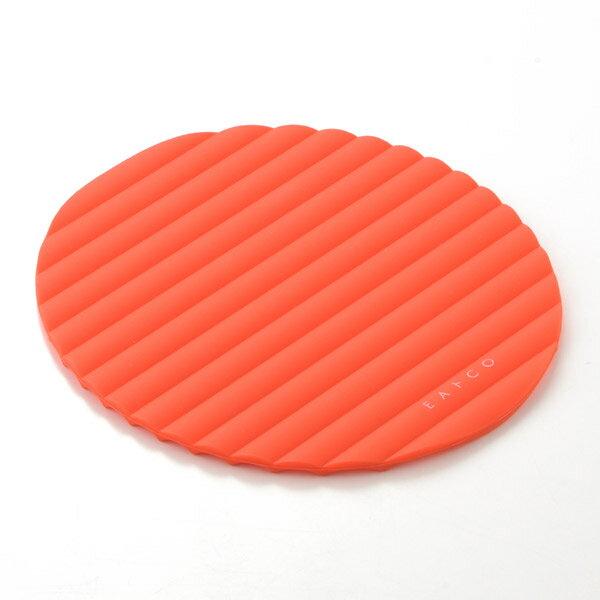ヨシカワ イイトコ Nami(ナミ) シリコンマット オレンジ AS0015 EAトCO( キッチンブランチ )