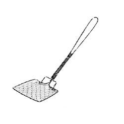 工房アイザワしゃれた小道具手編みシリーズ1豆腐スクイ(1125)(キッチンブランチ)