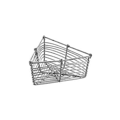 工房アイザワ しゃれた小道具 手編みシリーズ2 ミニカゴ 三角 (985)( キッチンブランチ )