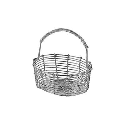 工房アイザワ しゃれた小道具 手編みシリーズ2 ミニバスケット 小判 (991)( キッチンブランチ )