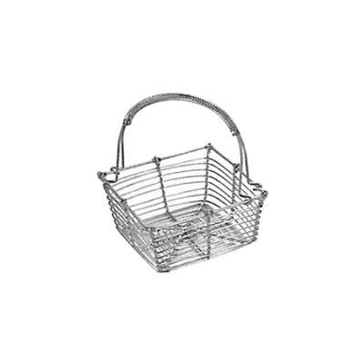 工房アイザワ しゃれた小道具 手編みシリーズ2 ミニバスケット 角 (994)( キッチンブランチ )