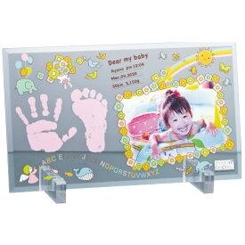 フォトデコムクリアガラス手形足形フレーム お仕立て券 PDM10101 《 ギフト プレゼント 御祝 内祝 》