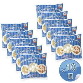 モンテベッロ 冷凍モッツァレッラ・ブファラ・チェリーサイズ 500g <10袋セット> 【冷凍便でお届け】 【常温商品と同梱不可】【キャンセル・返品・交換不可】