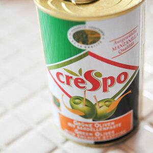 【当店おすすめ食材】crespo/クレスポ スタッフドオリーブ アンチョビ (缶) 【グリーンオリーブ】 《food》<120g> 【 ※ご注文後のキャンセル・返品・交換不可。 】