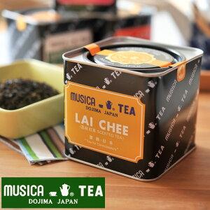 MUSICA TEA ムジカティー ライチ 【ムジカ紅茶 紅茶 堂島 LAI CHEE】 <226g缶>【キャンセル・返品・交換不可 】《 キッチンブランチ 》