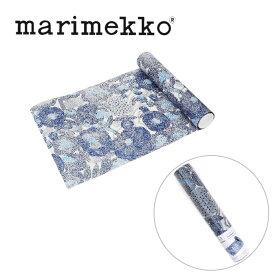 マリメッコ marimekko テーブルランナー 771264 ミンステリ ブルー 33cmx4.8m テーブルクロス ランチョンマット