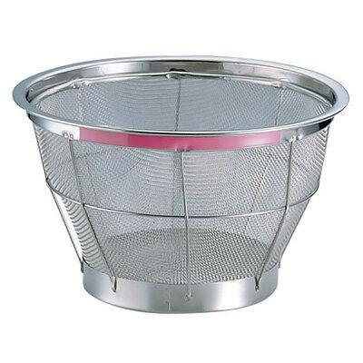 TKG NEW マンモス カラー 深型ざる 27.5cm ピンク<ピンク>( キッチンブランチ )