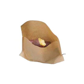 ラミパックガゼット袋(100枚入) 0560863 未晒無地 210×170/110×30mm( キッチンブランチ )