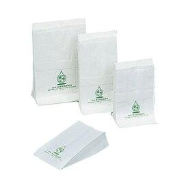ニュー耐油・耐水紙袋 ガゼット袋 (500枚入) G-小 120×200×70mm( キッチンブランチ )