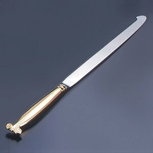 ウェディングケーキナイフ (桐箱入) 剣型 全長550mm( キッチンブランチ )