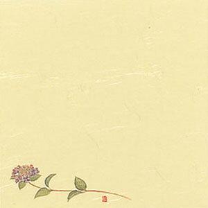 5寸懐紙 四季の花 (100枚入) S5-6 あじさい 150×150mm( キッチンブランチ )