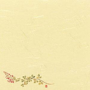 5寸懐紙 四季の花 (100枚入) S5-10 萩 150×150mm( キッチンブランチ )