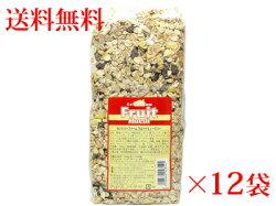 送料無料カントリーファームフルーツミューズリー750g1ケース(12袋入り)【朝食】【輸入食品】