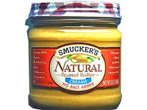 スマッカーズ ナチュラルピーナッツバター【朝食】【輸入食品】