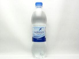 サンベネデット 炭酸入りナチュラルミネラルウォーター 500ml【輸入食品】