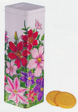 チャーチルスイセン(缶入りヘーゼルビスケット)【輸入食品】