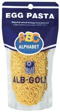 アルボ・ゴルド アルファベットパスタ【プチギフト】【輸入食品】