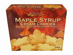 テロワールメープルシロップクリームクッキー【輸入食品】