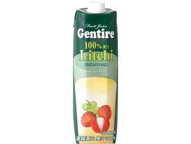 ジェンティーレ ライチジュース 1000ml【朝食】【輸入食品】