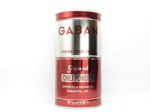 ギャバン チリパウダー 450g缶【輸入食品】