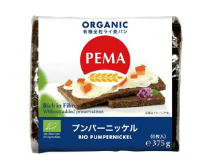 ペーマ 有機プンパーニッケル 6枚入り【輸入食品】