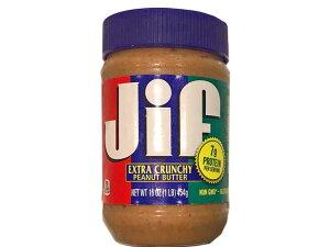 ジフ ピーナッツバター エキストラクランチ 454g Jif【輸入食品】
