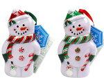 クリスマスクリスマススノーバディシェイプティンお菓子クリスマス詰め合わせ【輸入食品】