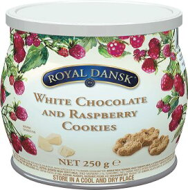 ロイヤルダンスク ホワイトチョコ&ラズベリークッキー【プチギフト】【輸入食品】
