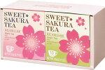 【箱代無料】スイートサクラティー箱入りギフトセット(紅茶と緑茶)桜さくら【プチギフト】